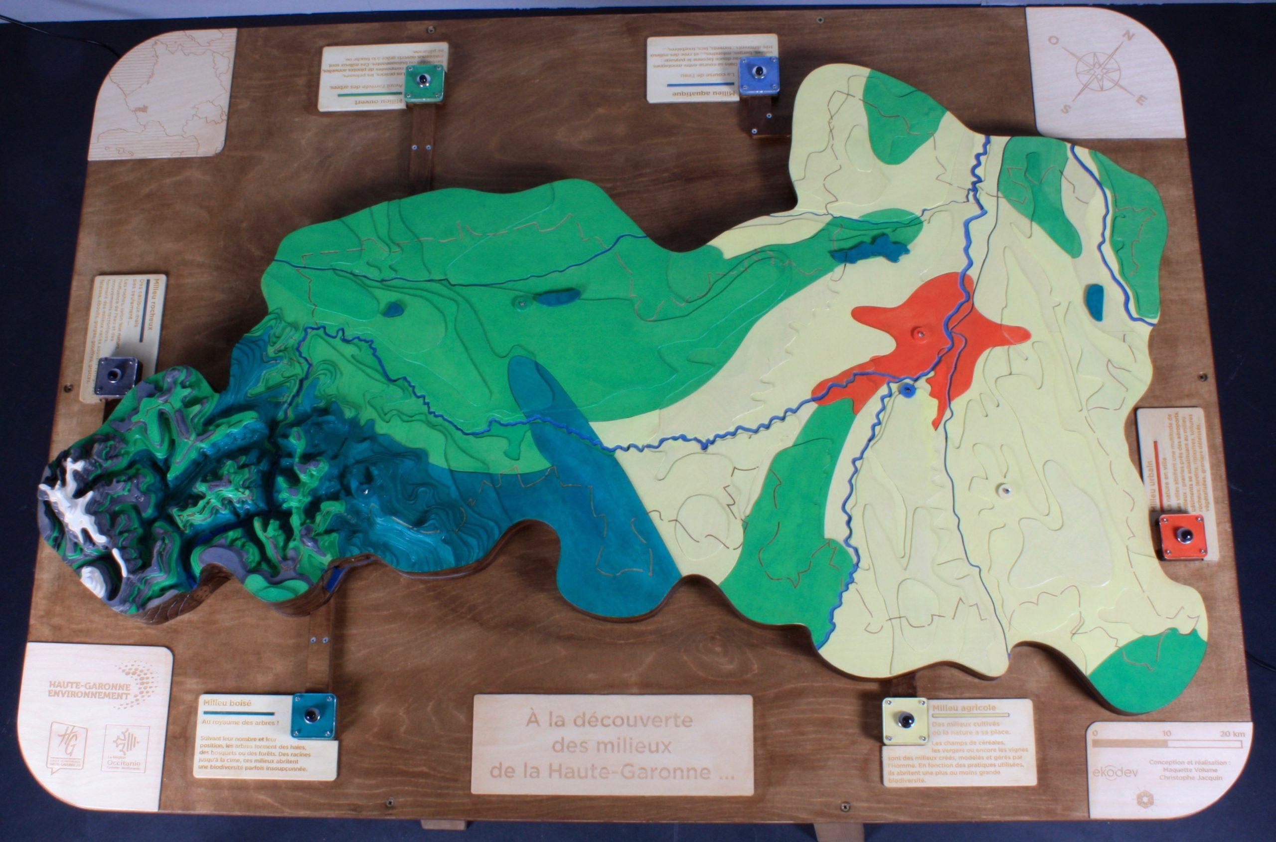 Maquette pédagogique biodiversité